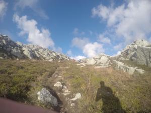 Holyhead mountain at mile 24!